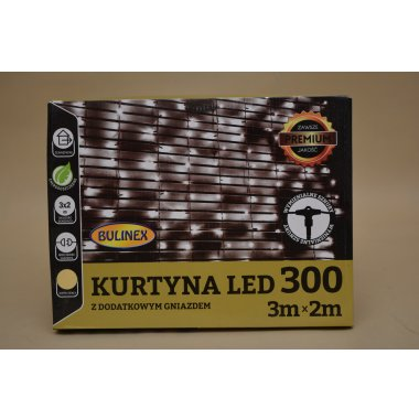 38-908 KURTYNA 300 LED 3*2M IP44