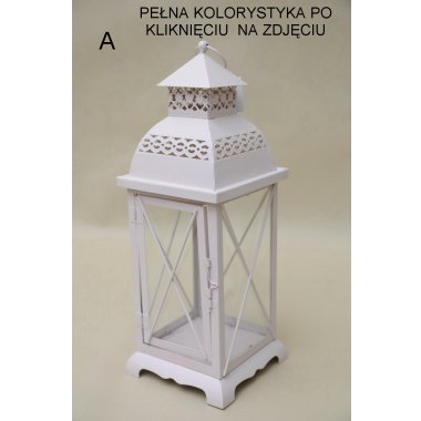 GP01-000-2212M LATARNIA METALOWA  MIX 38*12 CM