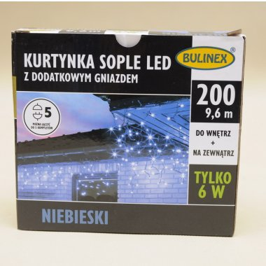 13-576 SOPLE LED 200+G NIEBIESKI  9,8M  IP44