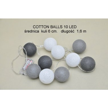 COTTON BALLS TV61006      10LD