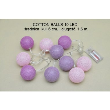 COTTON BALLS TV61010      10LD