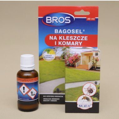 BROS BAGOSEL DO OPRYSKU NA KOMARY MESZKI 30ML 1921